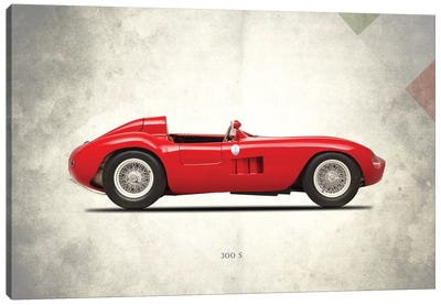 1955 Maserati 300S Canvas Art Print