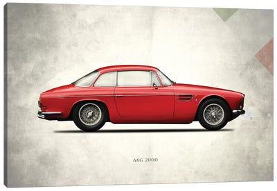 1956 Maserati A6G 2000 Canvas Art Print