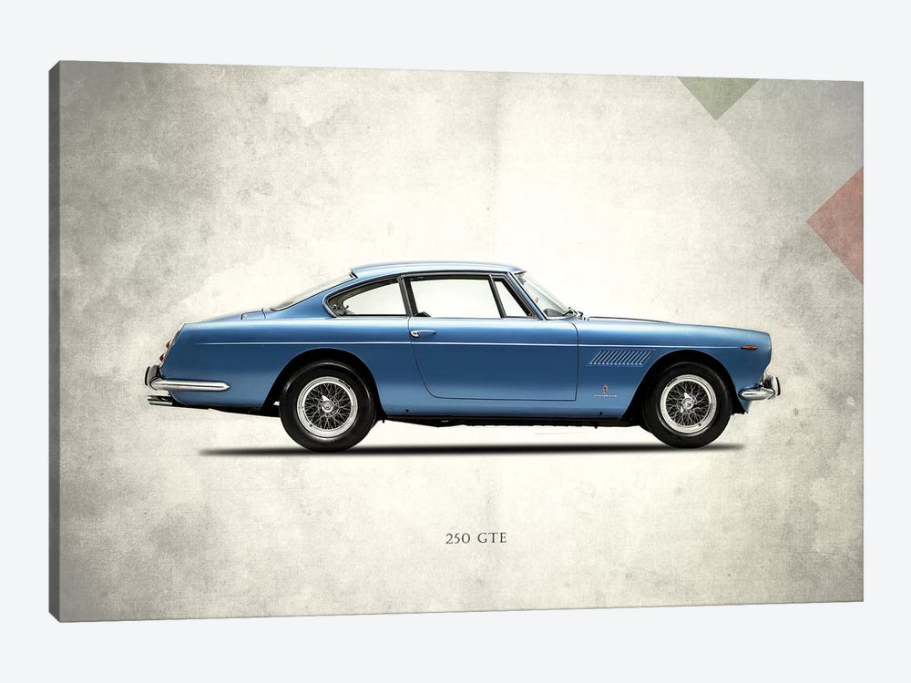 1962 Ferrari 250 GT/E by Mark Rogan 1-piece Canvas Print