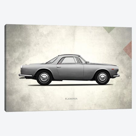 1962 Lancia Flaminia GT Canvas Print #RGN266} by Mark Rogan Canvas Art Print