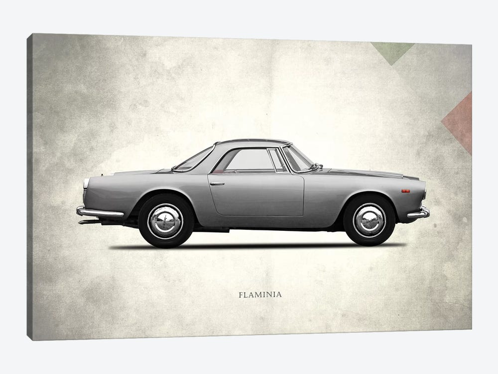 1962 Lancia Flaminia GT by Mark Rogan 1-piece Canvas Art