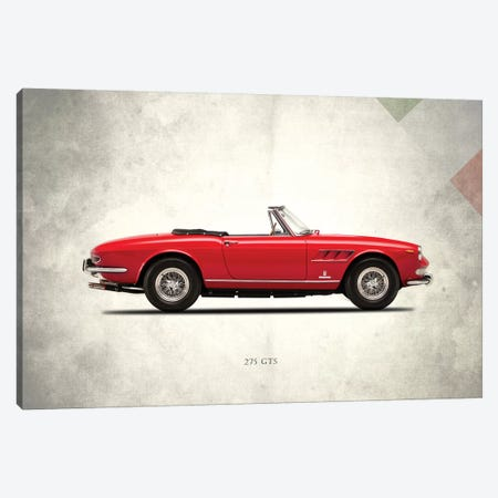 1966 Ferrari 275 GTS Canvas Print #RGN268} by Mark Rogan Canvas Artwork