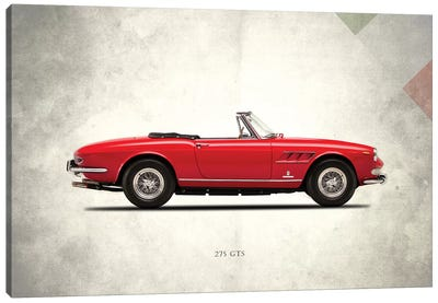 1966 Ferrari 275 GTS Canvas Art Print