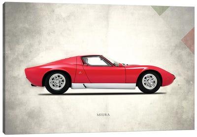 1967 Lamborghini Miura P400 Canvas Art Print