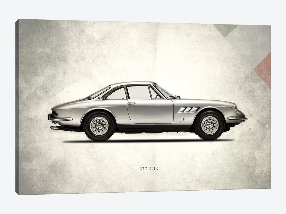 1968 Ferrari 330 GTC by Mark Rogan 1-piece Canvas Print