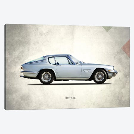 1969 Maserati Mistral Canvas Print #RGN272} by Mark Rogan Art Print