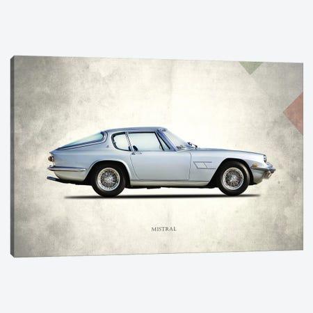 1969 Maserati Mistral 3-Piece Canvas #RGN272} by Mark Rogan Art Print