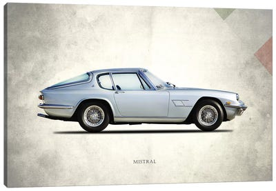1969 Maserati Mistral Canvas Art Print