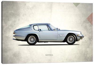 1969 Maserati Mistral Canvas Art Print
