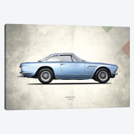 1969 Maserati Sebring 3700 3-Piece Canvas #RGN273} by Mark Rogan Canvas Print