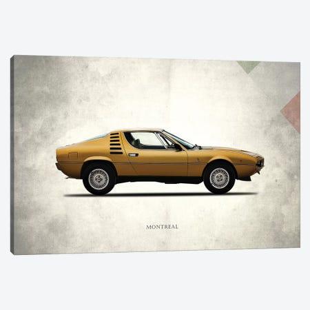 1972 Alfa Romeo Montreal Canvas Print #RGN274} by Mark Rogan Canvas Wall Art