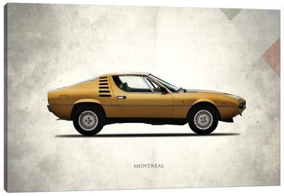 1972 Alfa Romeo Montreal Canvas Art Print