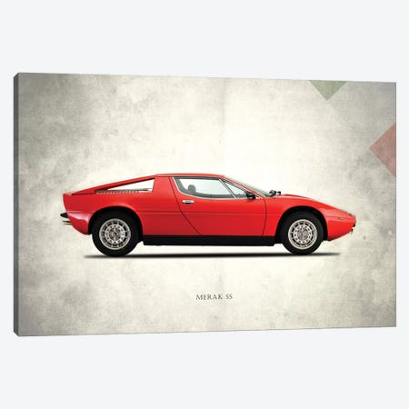 1975 Maserati Merak SS 3-Piece Canvas #RGN277} by Mark Rogan Canvas Artwork