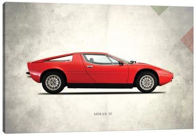 1975 Maserati Merak SS Canvas Art Print