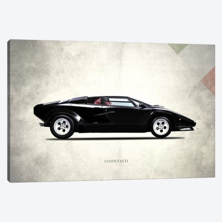 1982 Lamborghini Countach LP500 S Canvas Print #RGN279} by Mark Rogan Canvas Art Print