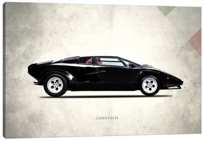 Vintage Italia Series: 1982 Lamborghini Countach LP500 S Canvas Print #RGN279