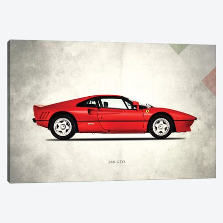 1984 Ferrari 288 GTO Berlinetta Canvas Print #RGN280} by Mark Rogan Canvas Wall Art