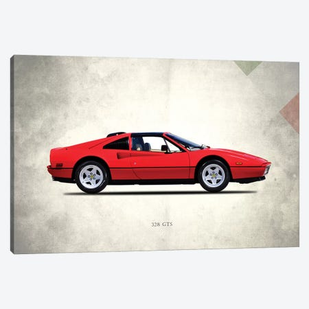 1987 Ferrari 328 GTS Canvas Print #RGN281} by Mark Rogan Canvas Artwork