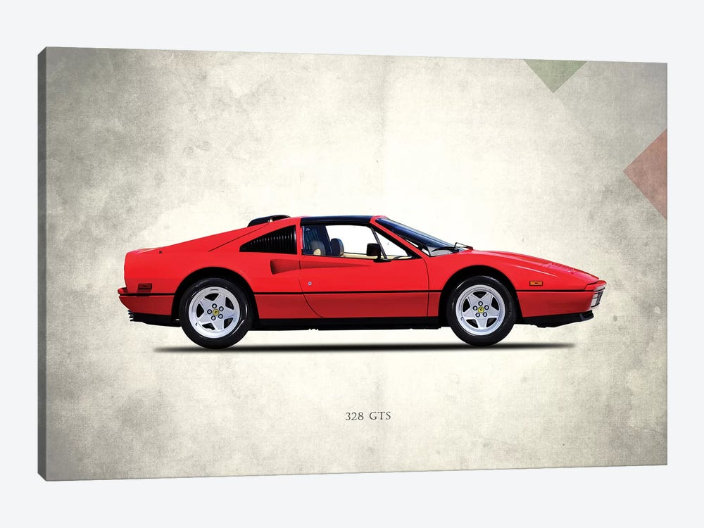 1987 Ferrari 328 GTS by Mark Rogan 1-piece Canvas Print