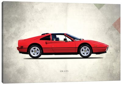 1987 Ferrari 328 GTS Canvas Art Print