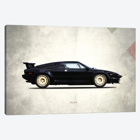 1988 Lamborghini Jalpa Canvas Print #RGN283} by Mark Rogan Canvas Art
