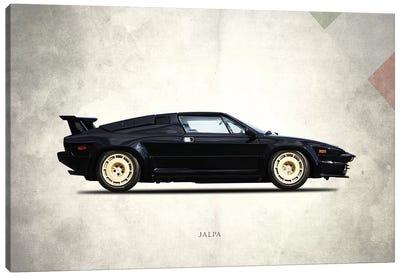1988 Lamborghini Jalpa Canvas Art Print