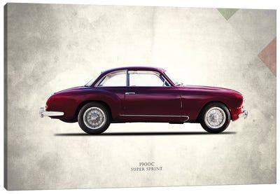 Alfa Romeo 1900C Super Sprint Canvas Art Print