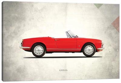 Alfa Romeo Giulia 1600 Spider Canvas Art Print