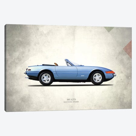 Ferrari (Daytona) 365 GTS Canvas Print #RGN288} by Mark Rogan Canvas Art