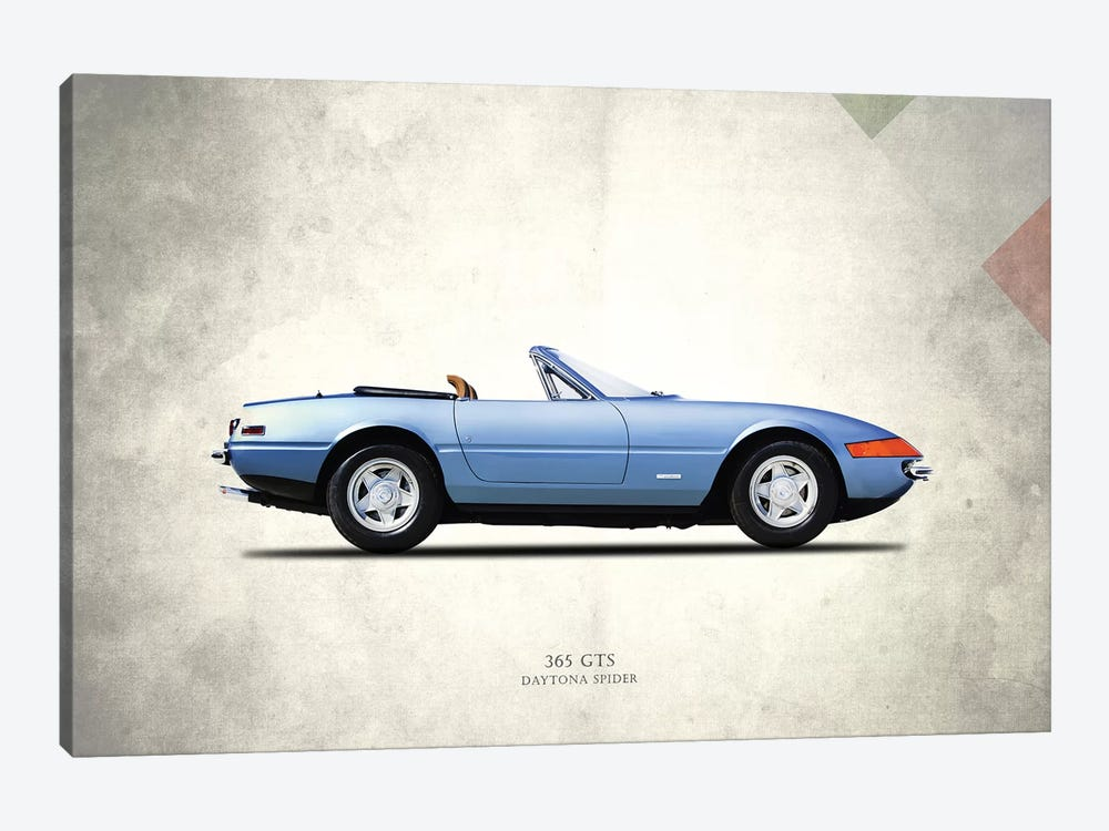 Ferrari (Daytona) 365 GTS by Mark Rogan 1-piece Canvas Art