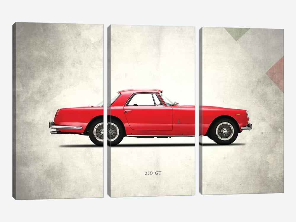 Ferrari 250 GT Berlinetta SWB 3-piece Canvas Art Print