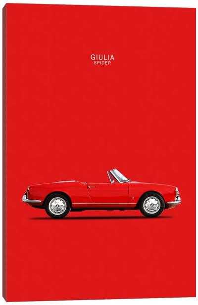 1964 Alfa Romeo Giulia Spider Canvas Art Print