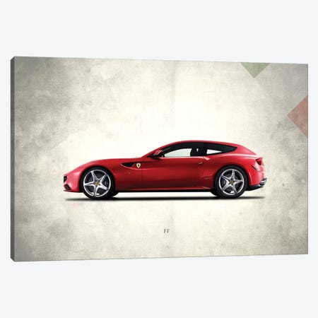 Ferrari FF Canvas Print #RGN290} by Mark Rogan Art Print