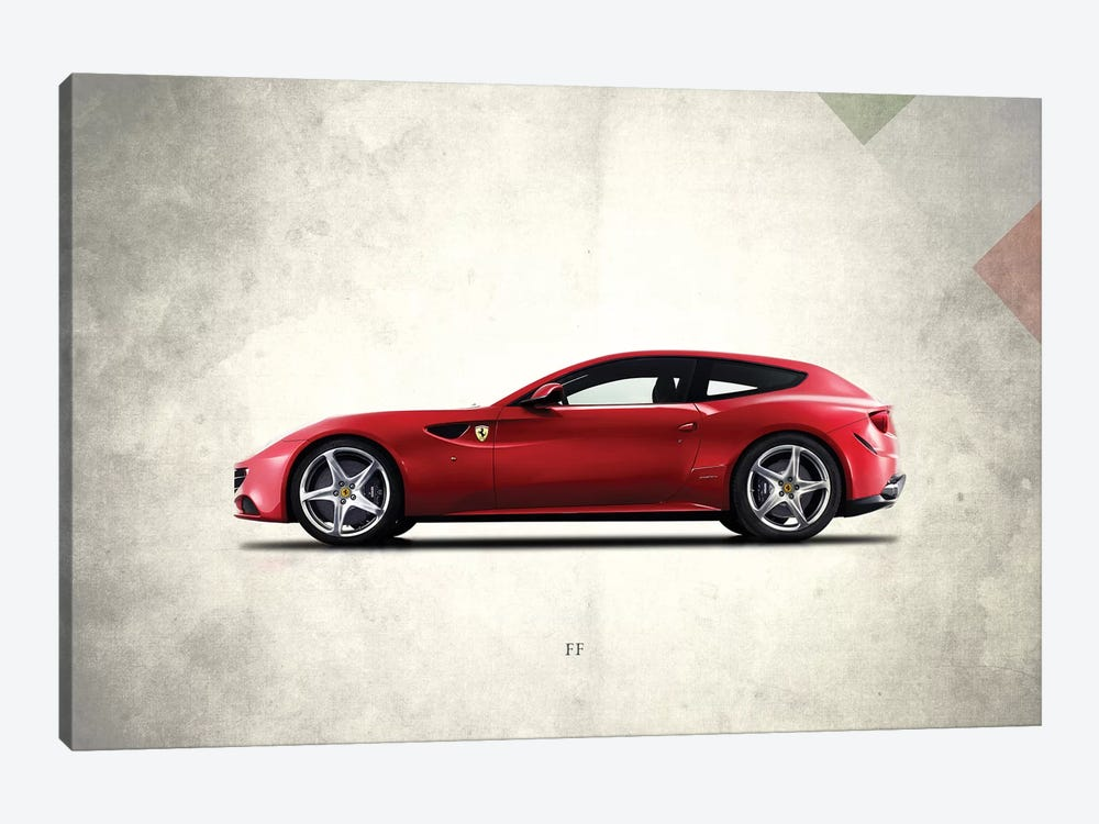 Ferrari FF by Mark Rogan 1-piece Art Print