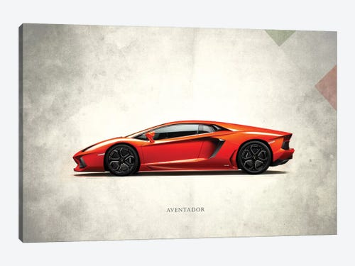 Lamborghini Aventador 1 Piece Canvas Artwork ...