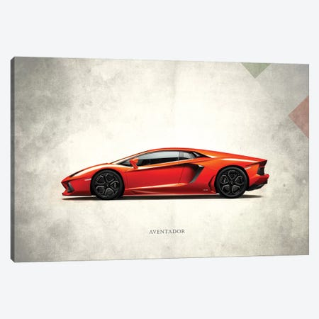 Lamborghini Aventador Canvas Print #RGN291} by Mark Rogan Canvas Art Print