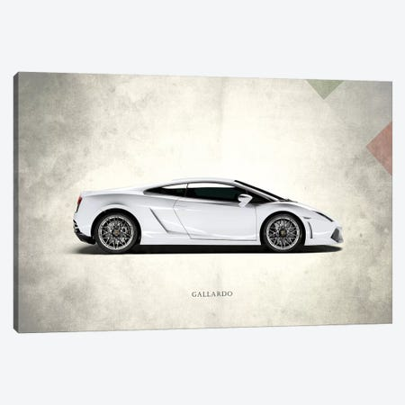 Lamborghini Gallardo Canvas Print #RGN292} by Mark Rogan Art Print