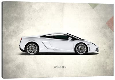 Vintage Italia Series: Lamborghini Gallardo Canvas Print #RGN292