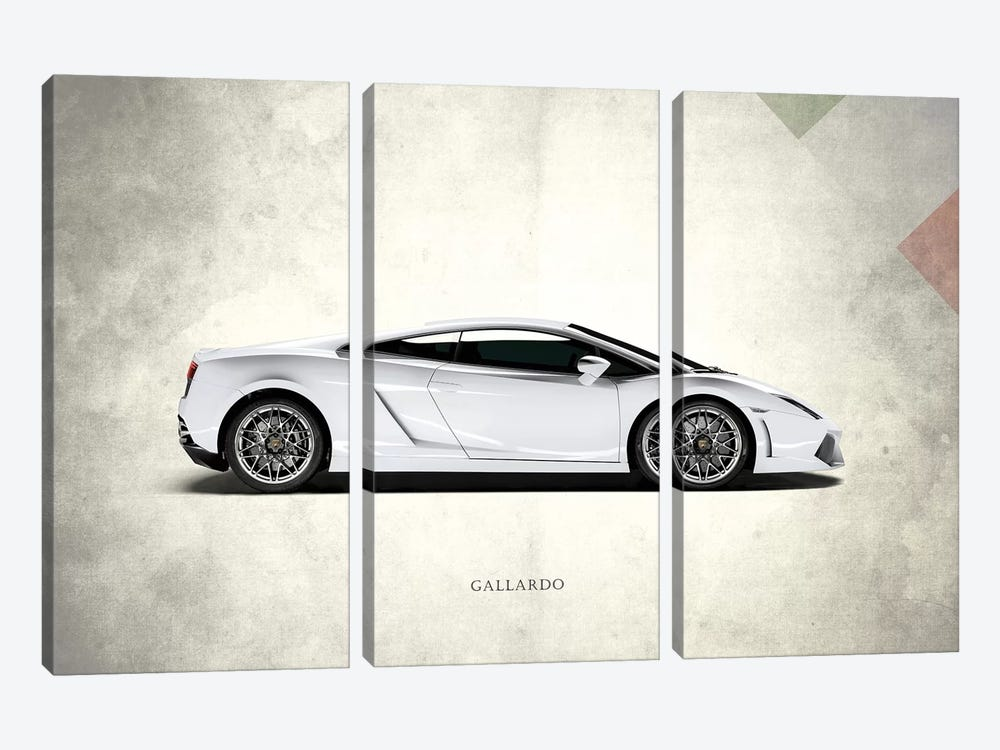 Lamborghini Gallardo by Mark Rogan 3-piece Art Print