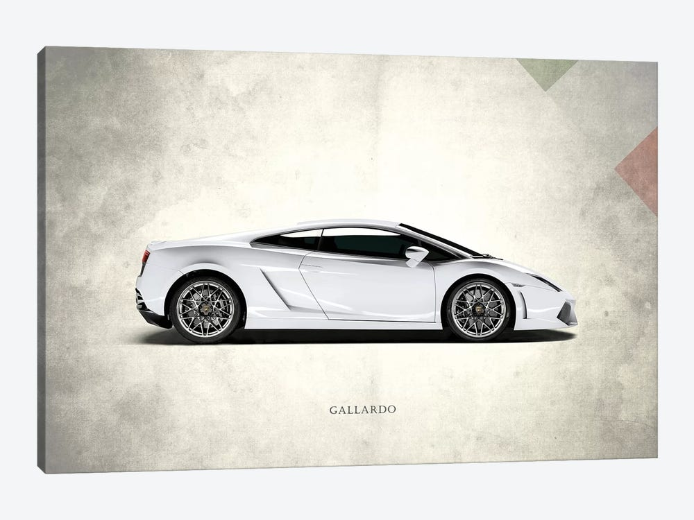 Lamborghini Gallardo by Mark Rogan 1-piece Art Print