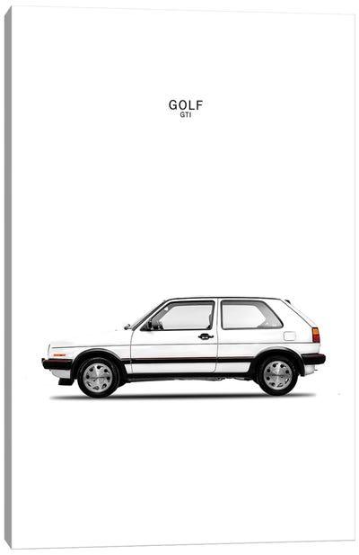 Volkswagen Golf GTI Mk2 Canvas Art Print