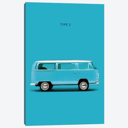 Volkswagen Type 2 Canvas Print #RGN294} by Mark Rogan Canvas Art