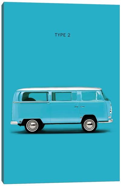 Volkswagen Type 2 Canvas Art Print