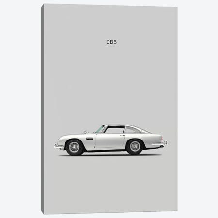 1965 Aston Martin DB5 Canvas Print #RGN29} by Mark Rogan Canvas Art
