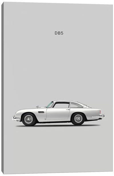1965 Aston Martin DB5 Canvas Art Print