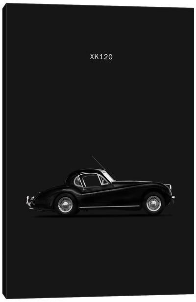 1952 Jaguar XK120 Coupe Canvas Print #RGN2