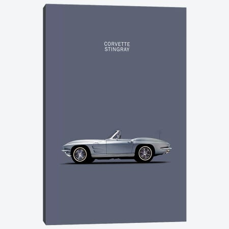 1965 Chevrolet Corvette Stingray Canvas Print #RGN30} by Mark Rogan Canvas Print