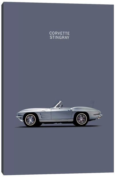 1965 Chevrolet Corvette Stingray Canvas Art Print