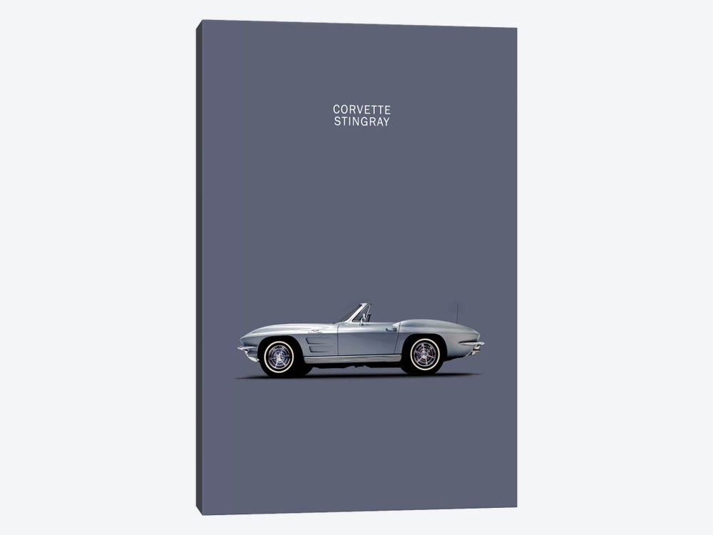 1965 Chevrolet Corvette Stingray by Mark Rogan 1-piece Canvas Print