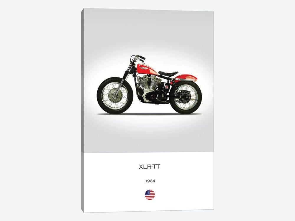 1964 Harley-Davidson XLR-TT Motorcycle by Mark Rogan 1-piece Canvas Art
